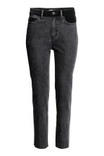 Jeans High Waist - Dark grey denim - Ladies | H&M CN 2