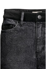 Jeans High Waist - Dark grey denim - Ladies | H&M CN 4