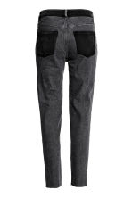 Jeans High Waist - Dark grey denim - Ladies | H&M CN 3