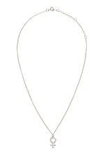 Necklace with pendant - Silver - Ladies | H&M CN 1