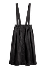 Skirt with braces - Black - Ladies | H&M CN 2