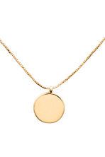 Gold-plated necklace - Gold - Ladies | H&M 2
