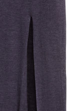 Long T-shirt - Dark blue - Ladies | H&M CN 3