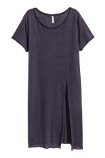 Long T-shirt - Dark blue - Ladies | H&M CN 2