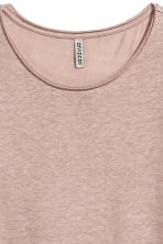 Long T-shirt - Light mole -  | H&M CN 3