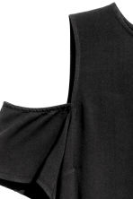 Top a spalle scoperte - Nero - DONNA | H&M IT 4