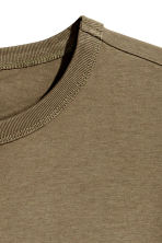 T-shirt - Khaki green - Men | H&M CN 3