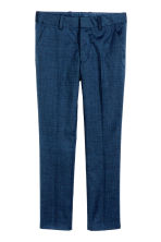 Suit trousers - Dark blue marl - Kids | H&M CN 2
