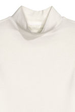 Top con collo a lupetto - Bianco - DONNA | H&M IT 2