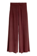 Wide trousers - Burgundy - Ladies | H&M CN 2