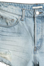 Shorts in denim Trashed - Blu denim chiaro - DONNA | H&M IT 4