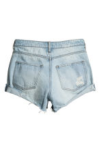 Shorts in denim Trashed - Blu denim chiaro - DONNA | H&M IT 3