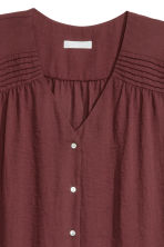 Top con scollo a V - Bordeaux - DONNA | H&M IT 2