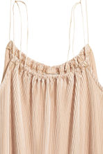 Top plissettato - Beige chiaro - DONNA | H&M IT 3