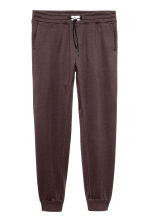 Brushed sweatpants - Dark brown - Men | H&M CN 1