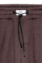 Brushed sweatpants - Dark brown - Men | H&M CN 2