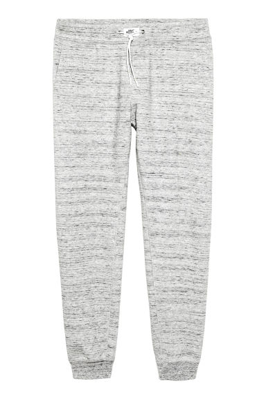 Marled sweatpants - Light grey marl - Men | H&M CN