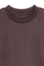 Brushed sweatshirt - Dark brown - Men | H&M CN 2