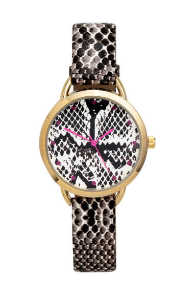 Watch - Snakeskin print - Ladies | H&M CN 1