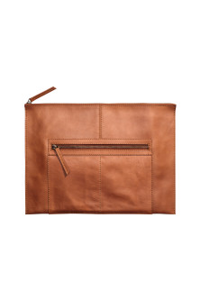 Leather laptop case 15""