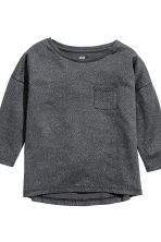 2-pack long-sleeved tops - Light grey/Spotted - Kids | H&M CN 4