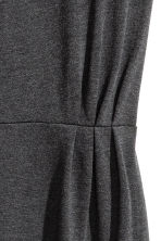 Short dress - Dark grey marl - Ladies | H&M CN 2
