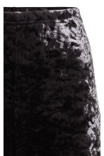 Crushed velvet leggings - Black - Ladies | H&M CN 3