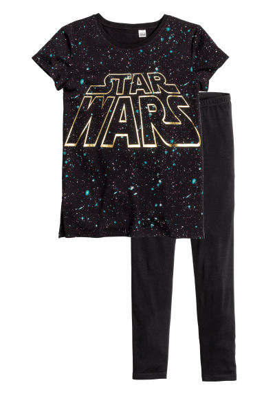 Pyjamas - Black/Star Wars - Kids | H&M CN 1