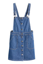 Denim dungaree dress - Denim blue -  | H&M CN 2