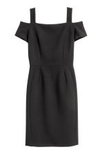 Cold shoulder dress - Black - Ladies | H&M CN 2