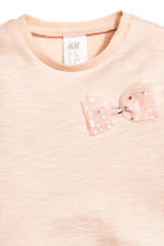 Top with tulle flounce - Powder pink - Kids | H&M CN 2