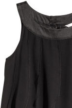 Frilled dress - Black - Kids | H&M CN 3