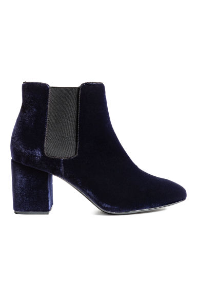 Ankle boots - Dark blue - Ladies | H&M CN 1