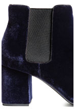 Ankle boots - Dark blue - Ladies | H&M CN 4