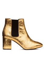 Ankle boots - Gold - Ladies | H&M CN 2