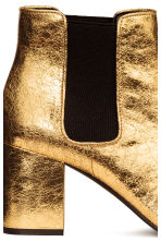 Ankle boots - Gold - Ladies | H&M CN 4