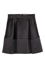 Satin skirt - Black - Ladies | H&M CN 2