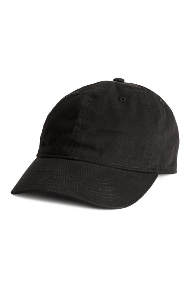 Cotton cap - Black - Ladies | H&M 1