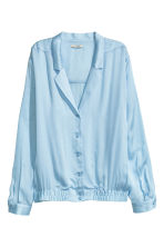 Blouse jacket - Light blue - Ladies | H&M CN 2