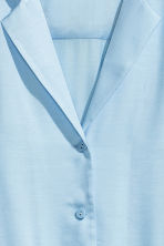 Blouse jacket - Light blue - Ladies | H&M CN 4
