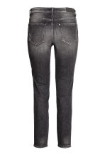 Slim Regular Ankle Jeans - 近黑色 - 女士 | H&M CN 3