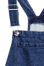 Denim dungarees - Dark denim blue - Ladies | H&M CN 3