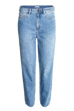 Straight High Jeans - Denim blue/Washed - Ladies | H&M CN 2
