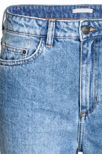 Straight High Jeans - Denim blue/Washed - Ladies | H&M CN 4