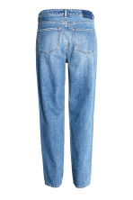 Straight High Jeans - Denim blue/Washed - Ladies | H&M CN 3