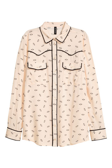 Shirt - Powder pink - Ladies | H&M CN