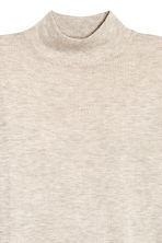 Fine-knit jumper - Light beige marl - Ladies | H&M CN 2