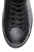 Leather and suede hi-tops - Black - Men | H&M CN 3