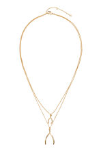 Necklace with pendants - Gold - Ladies | H&M CN 1