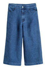 Denim culottes - Denim blue - Ladies | H&M CN 2